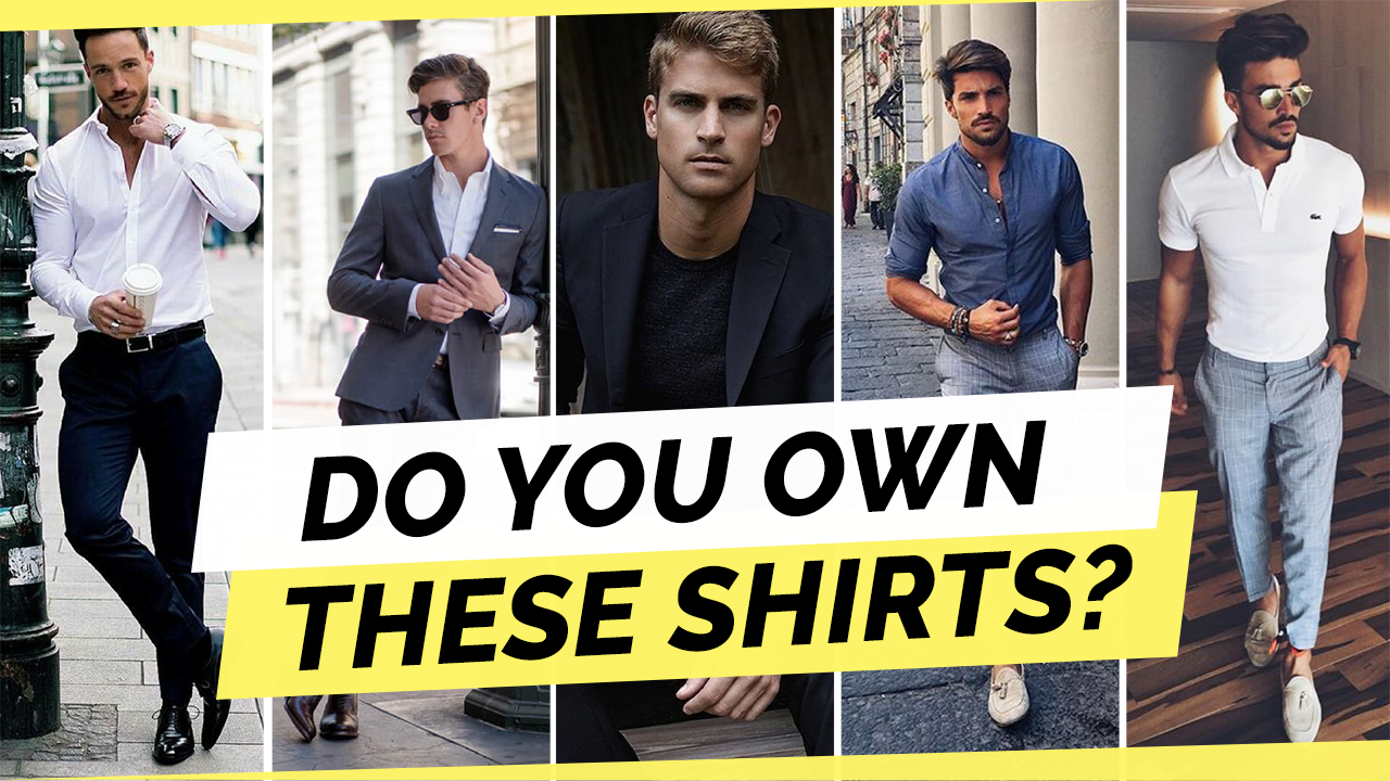 10 Types of T-Shirts Every Man Should Own